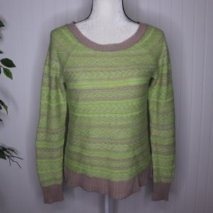 American Eagle Scoop Neck Sweater Size M